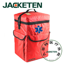 JACKETEN Travel First Aid Kit-JKT017 Ambulance Medical Large nylon Outside Sport First Aid Kit Emergency Hiking bag