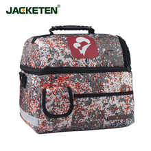 JACKETEN New born baby visit package-JKT010 Portable Military first aid kit Double Layer Thick Postpartum Bag Medical Response Kit