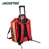 JACKETEN Emergency Camping Survival Sailor Medical First Aid Kit-JKT023 Large Thickening Waterproof EMS Medical First Aid Kit Bag Emergency Bag with Trolley