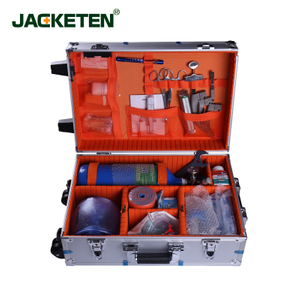 JACKETEN Emergency Kit For Ambulance Visit Aerometal Multi-Function Medical First Aid Kit-JKT031