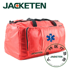JACKETEN CPR First Responder Emergency Survival Kit Large Medical First Aid Kit Bag Endotracheal Intubation Bag
